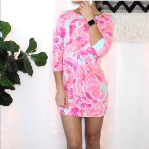 Lilly Pulitzer Print Cotton Mini Tunic Dress
